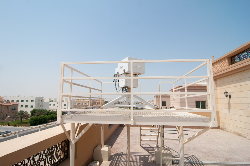 Brewer at the NCMS in Abu Dhabi