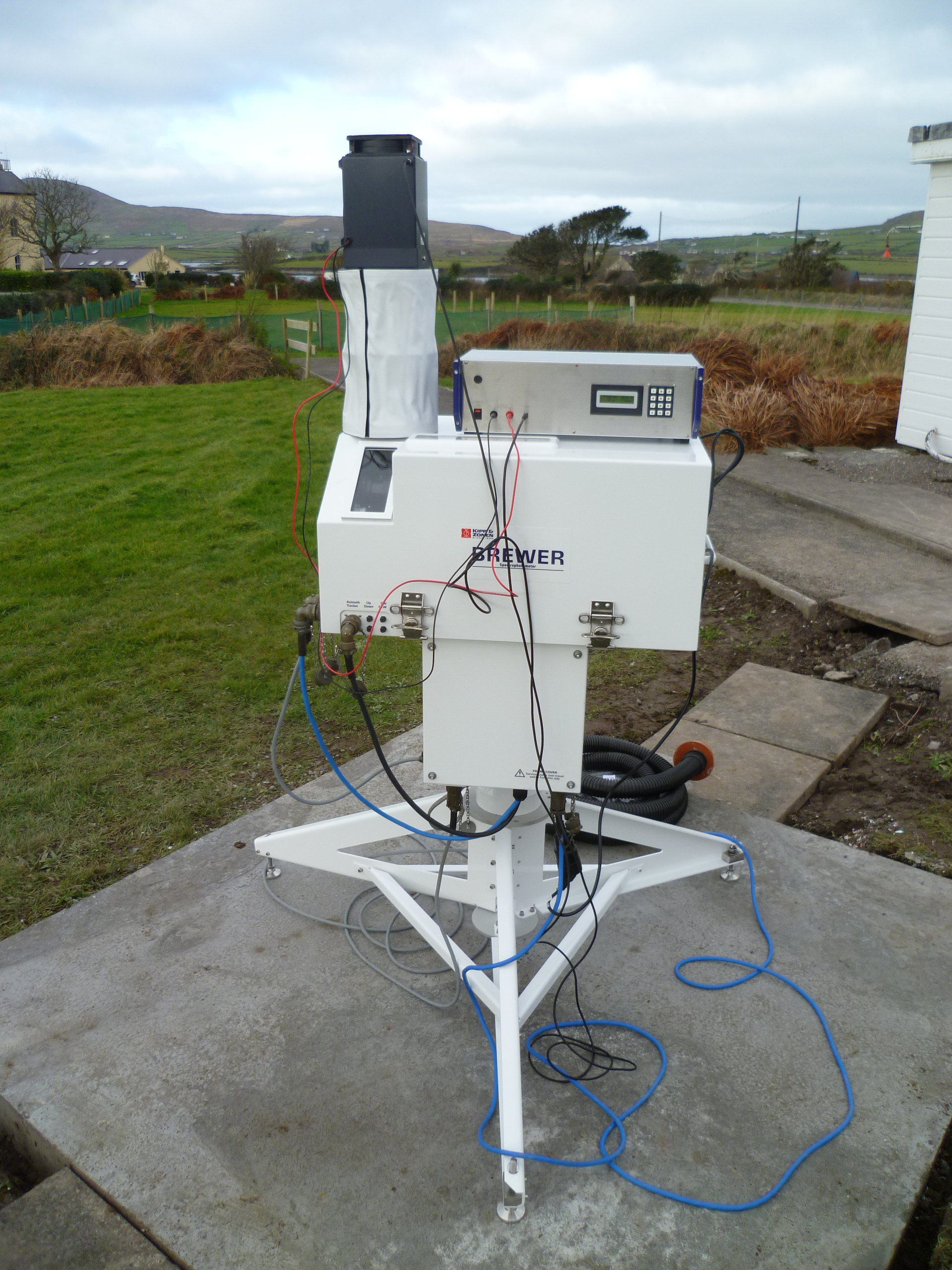 Installation of Brewer 227 at the Valentia Observatory
